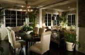 7 liefde gevulde decoratie voor uw eetkamer