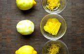 Hoe een citroen zest