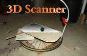 Maak een 3D-Scanner van een mobiele telefoon en fietswiel