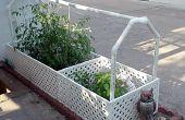 Zelf gieter tuin - gebruik gerecycleerd water uit een airconditioner