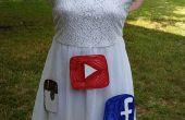 Halloween kostuum: Sociale vlinder