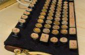Goedkoop en gemakkelijk te maken van Steampunk toetsenbord