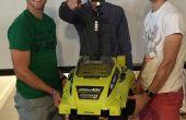 Zelf Driveing Lawn Mower Remote Control autonome Lawn Mower RaspberryPi met