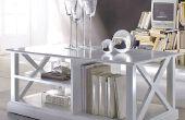 Eenvoudige elegante salontafel