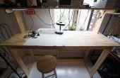 Low-Cost permanent Workbench - geen schroeven nodig!