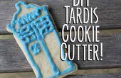 TARDIS Cookie Cutter DIY-- en suiker koekjes!