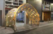 Ontwerp en fabricage van een paviljoen buigen-actieve