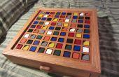 Houten Sudoku-bord kleur gebaseerde