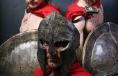 Kostuums: Spartanen van 300 en Max van Where the Wild Things Are