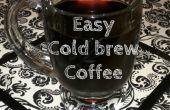 Gemakkelijk koude gebrouwen koffie