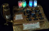 Steampunk elektronica LED experimentator Board