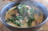 Olive Garden stijl Zuppa Toscana soep