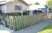 Halloween Fence van Pallets