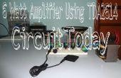 6 Watt versterker met behulp van TDA2614