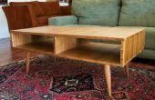Midden van de eeuw moderne Style Coffee Table gemaakt met Plyboo (bamboe triplex)