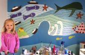"EASY MODE: ""Ponyo"" muur muurschildering"