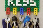 Lego sleutel houder en Opmerking Clip