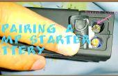Repareren van een lithiumbatterij Jump Starter.
