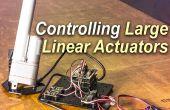 Controle van een grote Lineaire servomotor met Arduino
