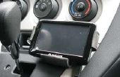 GPS/iPod auto mount van leuke schuim