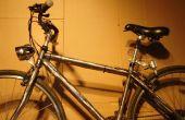 Hoe installeer ik een dynamo aangedreven fiets licht.