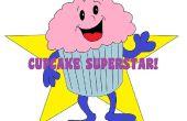 Super ster Cupcake boom