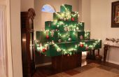 Levensgrote Minecraft Christmas Tree