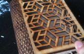 DIY geometrische Laser snijden vak