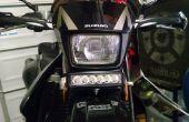 Suzuki DRZ 400 motorfiets LED Light Bar Mount
