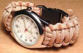 Hoe maak je een Paracord Watch met gesp
