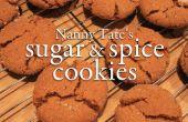Nanny Tate's suiker en Spice Cookies