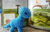 Baby Brachiosaurus gehaakt patroon