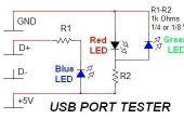 Eenvoudige USB Tester
