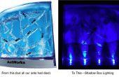 Hergebruiken van LED's voor verlichting van de schaduw in