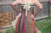 Stropdas Steampunk Corset jurk