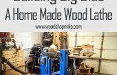 Gebouw Big Blue, een Home Made hout draaibank