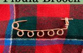 Maak een Romeinse Fibula-broche - zonder een fakkel!