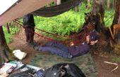 Duurzaam, lichte en compactable paracord hangmat
