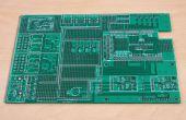 Arduino gebaseerd hackable prototyping board
