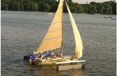 Hoe te bouwen van een zeilboot die is veel goedkoper dan retail ones.