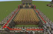 Minecraft auto-oogst tarwe boerderij