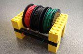 Houd uw draad spoolt Tidy met Legos