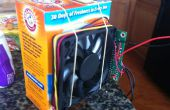 Bouwen van een kat strooisel vak ventilator met Arduino