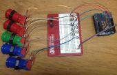 Gemakkelijk Arduino drukknop scoren voor twee Teams