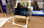 DT project: Hoe maak je een easy fold-down telefoon of tablet staan