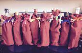 Gemakkelijk decoratief wijn tassen