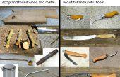 DIY blacksmithing - omzetten van uw barbecue in een smederij vervolgens met behulp van het te recyclen van oud ijzer in tools