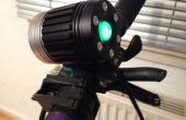 Quick-release Mod voor CREE T6 fiets licht + waterdicht batterij fles (goedkoop/gratis)