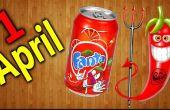 Fanta met paprika smaak voor 1 April / PRANK
