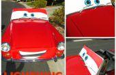 DIY leven grootte Lightning McQueen